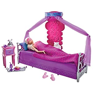 Barbie Doll and Bedroom