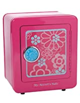 Secret Safe In Painted Pink With A Beautiful Floral Design