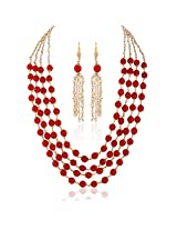 Superb Gold plated contemporary set