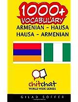 1000+ Armenian - Hausa, Hausa - Armenian Vocabulary