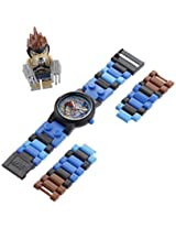 "LEGO Kids' 8020080 ""Legends of Chima Lennox"" Watch with Link Bracelet and Figurine"
