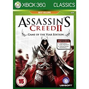 Assassin's Creed 2 II Game of The Year (Xbox 360 NTSC U/C)