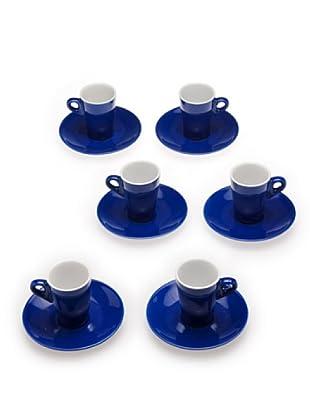 Tognana 6 Tazze Caffè Elegant (Blu)