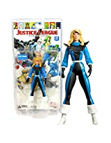 Dc Direct Year 2008 Series 1 Justice League International 6 1/2 Inch Tall Action Figure Black Canary With Multiple Points Of Articulation And Display Base