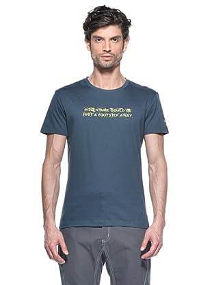 Salewa Camiseta Footstep Co M (Azul Marino)
