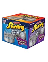 POOF-Slinky Model #100 Metal Original Slinky in Box, Single Item, Silver