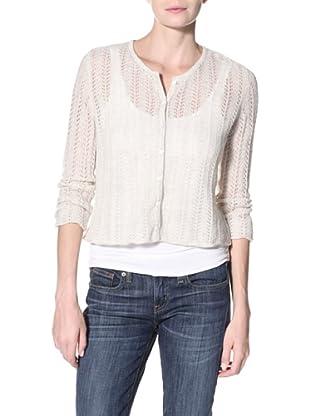 Kokun Women's Classic Cardigan Sweater (Fog)