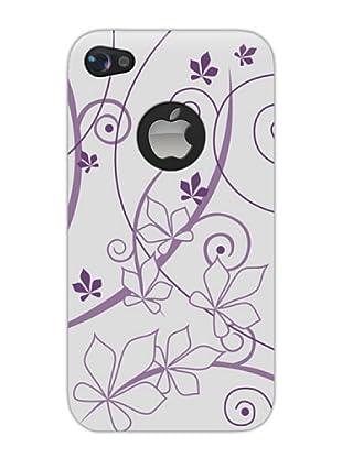 Blautel iPhone 4/4S Carcasa Protectora Trasera Leaves