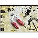 [E17M_005] Strawberry Magic Earrings