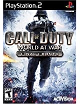 Call of Duty: World at War Final Fronts (PS2)