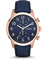 Fossil Townsman Analog Blue Dial Men's Watch - FS4933