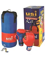 USI Youth'S Fitness Kit, 8-12yr (Red/Blue)