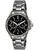 Giordano Analog Black Dial Women's Watch - A2002-11