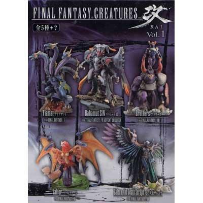 ファイナルファンタジー クリーチャーズ 改 -KAI- Vol.1 シークレット含む全6種セット