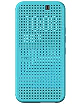 HTC Dot View II Case for HTC One M9 - Retail Packaging - Blue