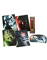 Star Wars Spiral Notebook Folders Pencils and Pencil Case
