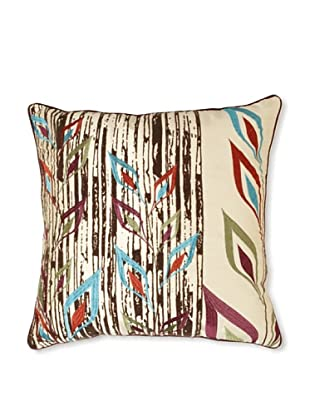 Design Accents Tribal Flower, Ivory, 20