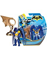 "Batman W/ Action Wing ~4"" Mini Action Figure: Batman Unlimited Basic Figure + Accessories Series"