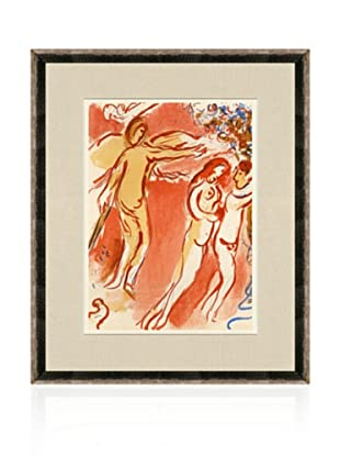 Chagall, Adam and Eve expelled from Paradise