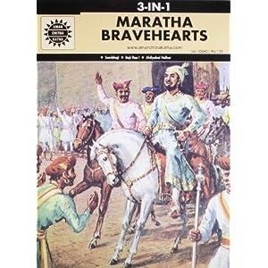 Maratha Bravehearts: 3 in 1 (Amar Chitra Katha)