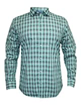 Peter England Green Casual Shirt