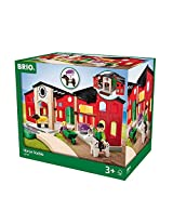 Brio 63379100 Horse Stable Playset