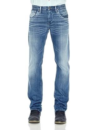 Pepe Jeans London Pantalón Vaquero Tooting (Azul)