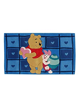 ABC Alfombra Walt Disney Winnie The Pooh (Azul)