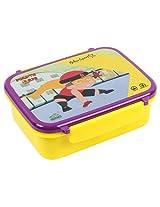 Mighty Raju Lunch Box in Yellow