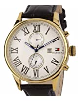 Tommy Hilfiger Analog Off-White Dial Men's Watch - TH1710291/D