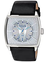 FCUK Analog White Dial Men's Watch - FC1078SSGN