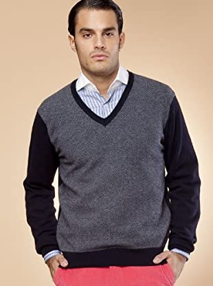 Hackett Jersey Clásico (negro / gris)
