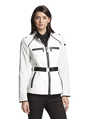 Vince Camuto Women's Belted Parka (Off white)