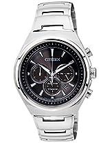 Citizen Eco-Drive Analog Black Dial Men's Watch - CA4021-51E