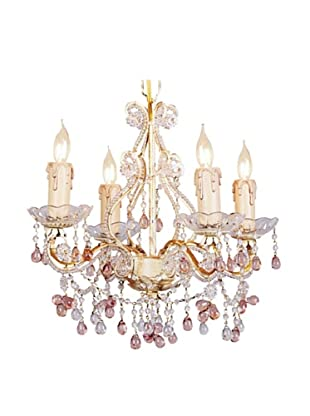 Gold Coast Lighting Paris Flea Market Crystal Chandelier (Champagne)
