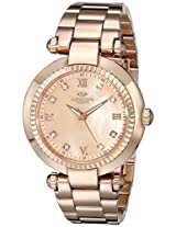 Oniss Paris Women's ON615N-LRG MADISON COLLECTION Analog Display Swiss Quartz Rose Gold Watch