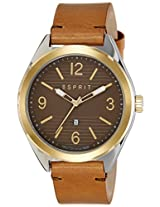 Esprit Analog Brown Dial Men's Watch - ES108371002