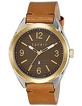 Esprit Analog Brown Dial Men's Watch - ES108371002
