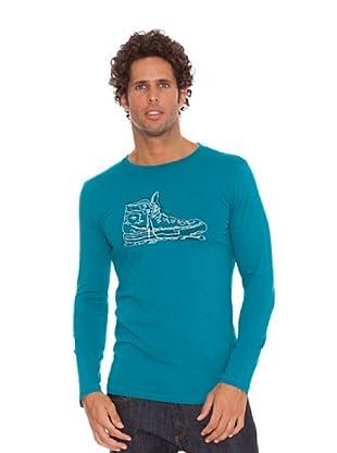 Converse Camiseta T-Vand (Verde agua)