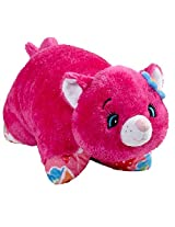 Pillow Pets Jumboz - Flower Power Cat Large Stuffed Animal Plush Toy