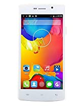 Adcom A54 Quad W Android Mobile Phone with 5 inch screen (White)