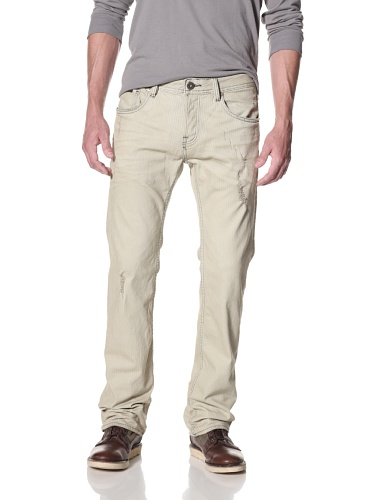 Cult of Individuality Men's Hagen Relaxed Jeans (Railroad)