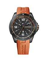 Tommy Hilfiger Men's Analog Display Quartz Orange Watch TH1790999J