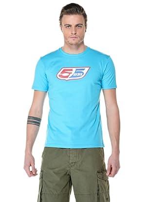 55DSL Camisa Logoclassic (Cian)
