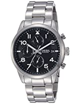 Fossil End-of-season Daily Analog Black Dial Men's Watch - FS5137