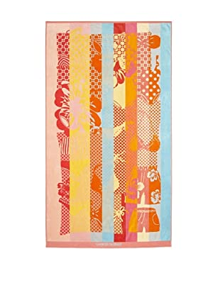 Garnier-Thiebaut Splash Beach Towel (Coral)