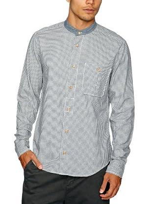 Cottonfield Hemd (Blau/Weiß)