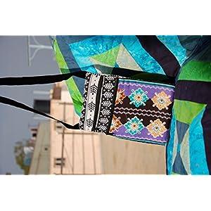 Reinvention Black Printed Sling Bag