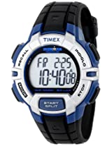 Timex Mens T5K791 Ironman Traditional Sport Watch with Black Resin Band