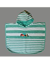 Kadambaby - Green stripes poncho